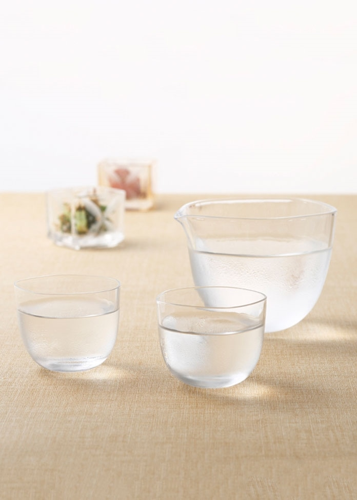 【KIMOTO GLASS TOKYO】Brume 冷酒セット フロスト