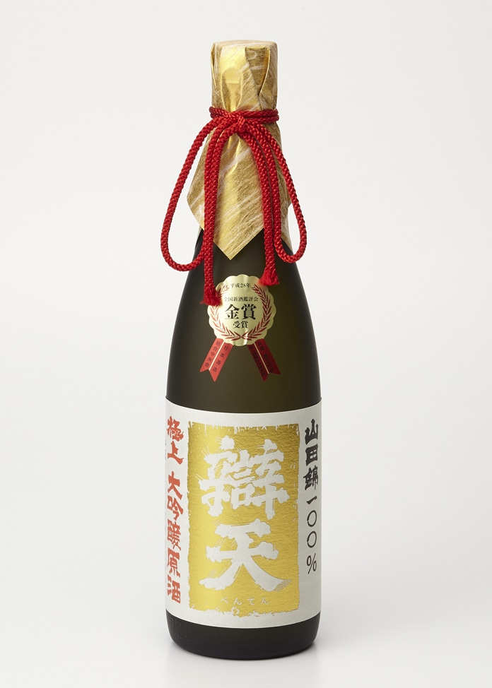 後藤酒造店 【辯天 】 山田錦 極上 大吟醸原酒 (金賞受賞酒) 720ml