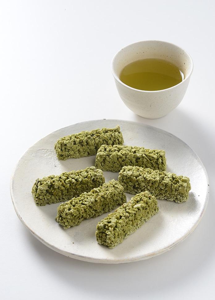 京・宇治茶游堂 宇治抹茶チョコクランチ 茶乃樹 9個入 × 2箱