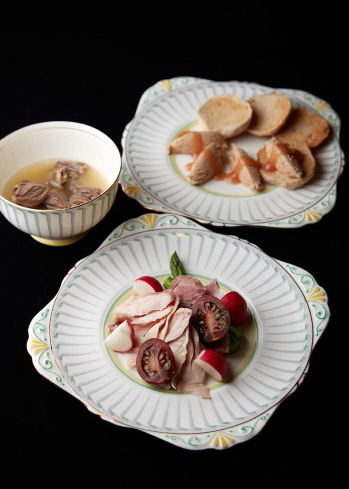 GINZA kansei 【GINZA kansei】国産ホロホロ鳥のオードブルセット
