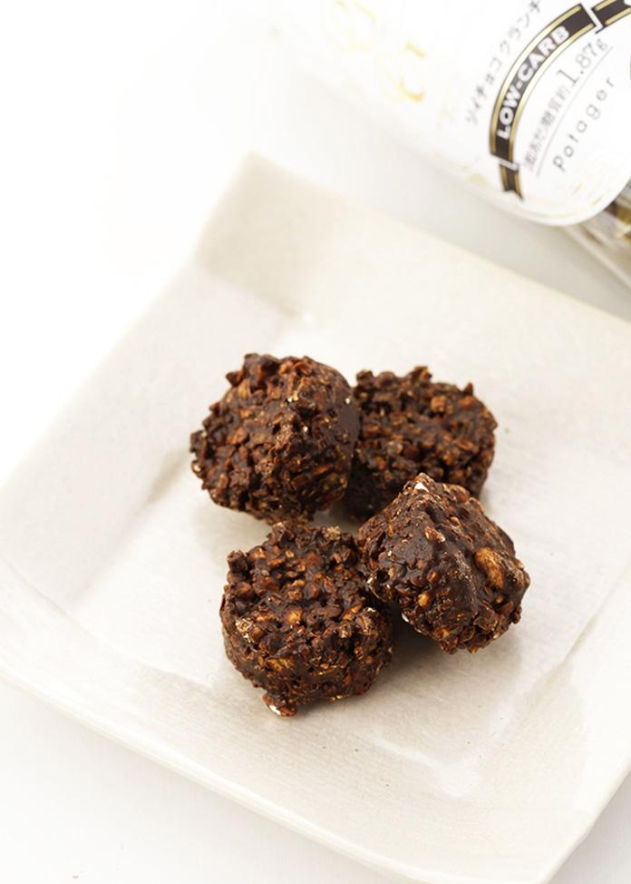 パティスリー ポタジエ ソイチョコクランチ(乳酸菌入りソイチョコクランチチョコレート)4箱