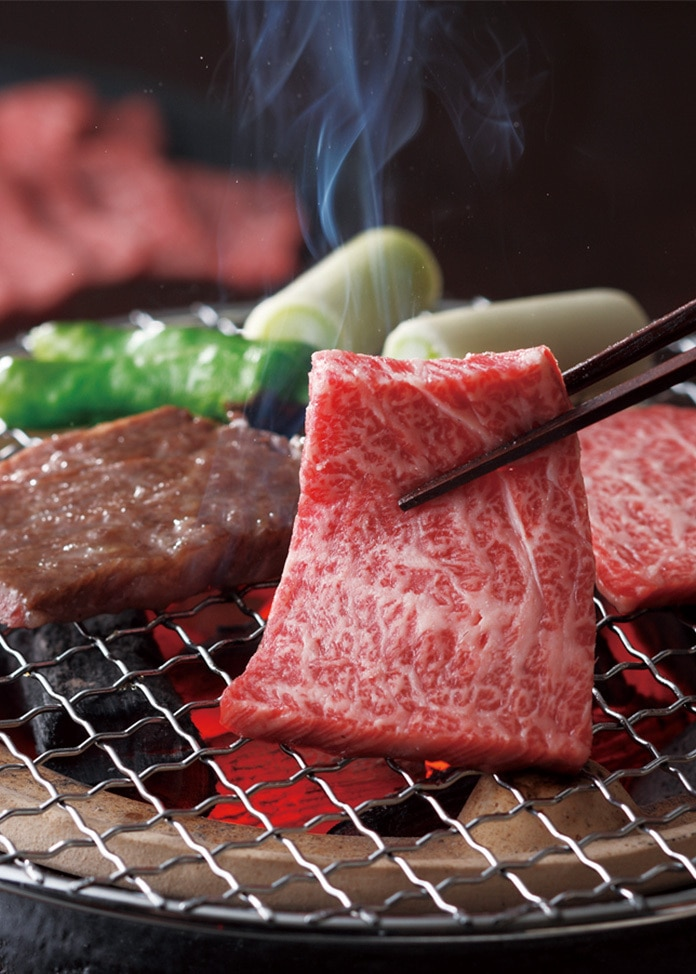 リンベル 〈山形の極み〉山形牛 焼肉用 肉質等級:4等級(B.M.S.No.5)以上