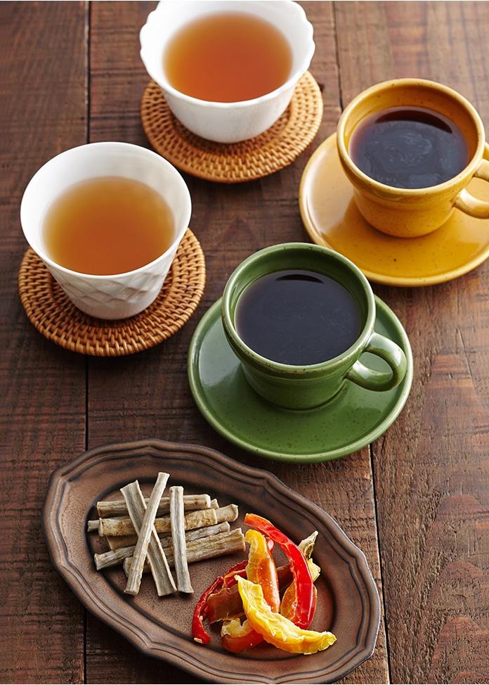 珈琲専科ヨシダ 十勝糖彩・十勝焙煎野菜茶とレギュラーコーヒー詰合せ