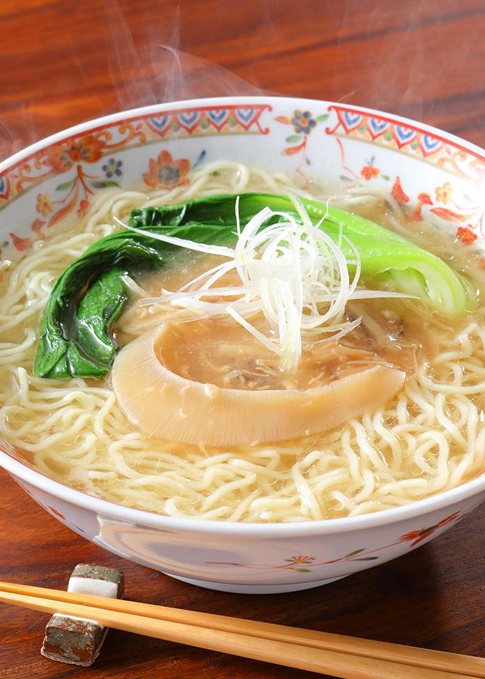 <オンワード マルシェ>丸光製麺 気仙沼・海鮮ふかひれ生ラーメン(5食入)