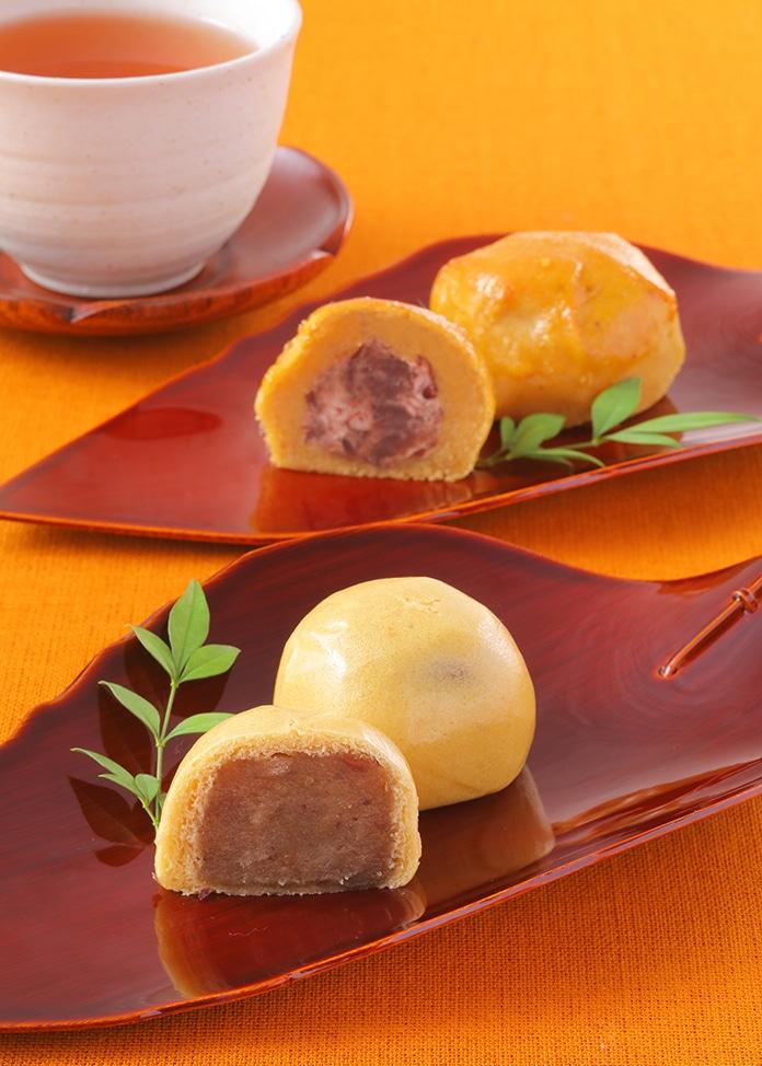 草加家 スイートポテト・栗と芋の薄皮まんじゅうの詰合せ