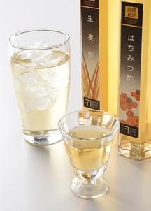 はちみつ酢と生姜酢(5倍希釈)ギフトセット