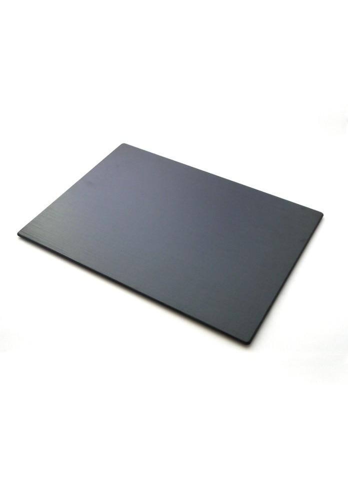 輪島キリモト 布みせプレート(長方・大)黒
