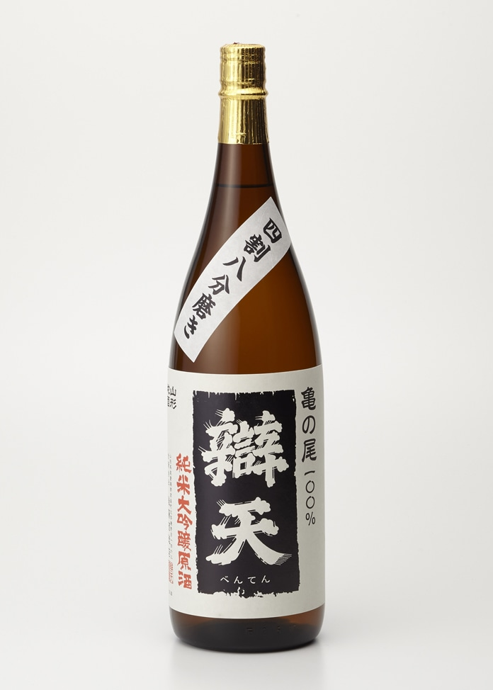 後藤酒造店 【辯天】亀の尾 純米大吟醸原酒 1800ml