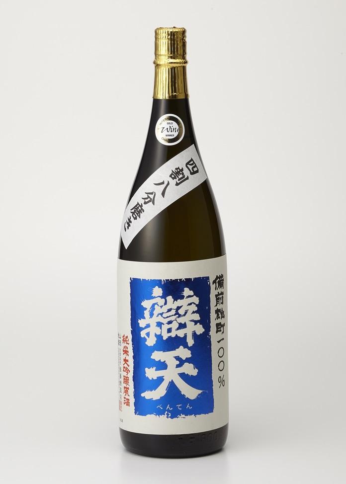 後藤酒造店 【辯天】備前雄町 純米大吟醸原酒 1800ml