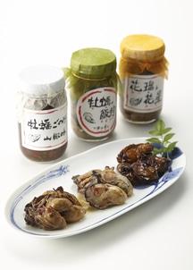 かきの華3本セット (花瑠&花星、牡蠣の飯狩、牡蠣ごのみ山椒味)