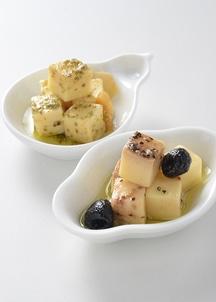 チーズのオリーブオイル漬2本セット