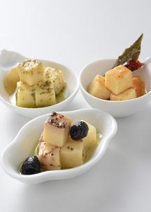 チーズのオリーブオイル漬3本セット