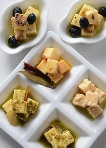 チーズのオリーブオイル漬6本セット