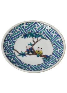 豆皿 縁起豆皿コレクション 紗彩型唐子