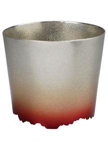 SHIKICOLORS Rock Cup Golden leaf Scarlet