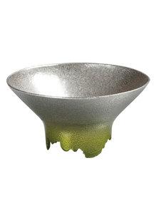 SHIKICOLORS Sake Cup Spring green Bright green