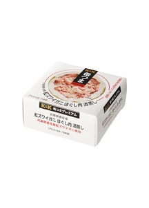 缶つまプレミアム香住産紅ズワイガニほぐし肉酒蒸し 75g×6