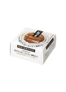 缶つまプレミアム香住産紅ズワイガニカニミソ脚肉入 60g×6