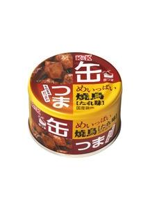 缶つま めいっぱい 焼鳥 たれ 135g×12