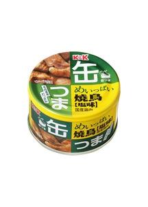 缶つま めいっぱい 焼鳥 塩 135g×12