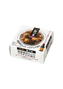 缶つま 国産鶏ぼんじりソラチたれ焼 45g×6