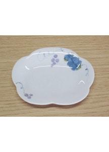 一珍ぶどう(小)・花型皿