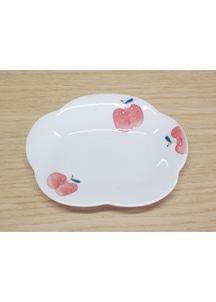 りんご(小)・花型皿