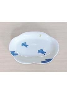 うさぎ(大)・花型皿