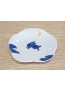 うさぎ(小)・花型皿