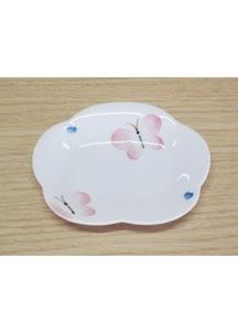 蝶々(小)・花型皿