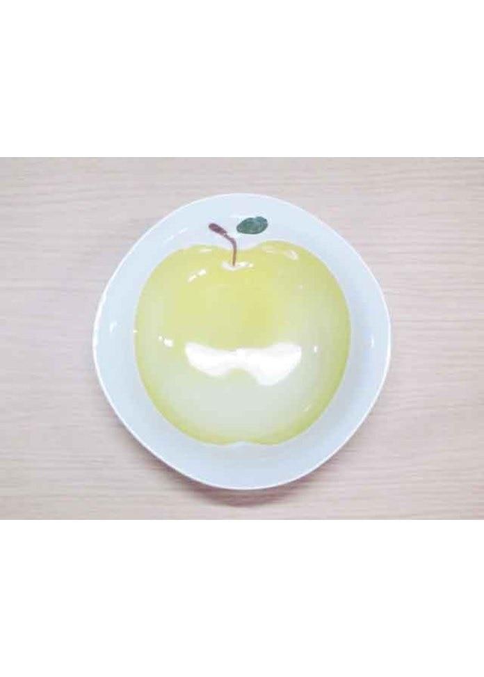 篠英陶磁器 りんご(黄)・小鉢