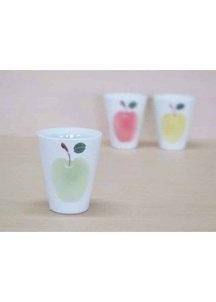 りんご(緑)・フリーカップ