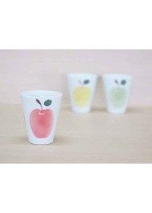 りんご(赤)・フリーカップ
