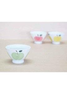 りんご(緑)・ご飯茶わん