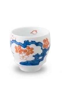 【有田焼】匠の蔵・SAKE GLASS  染桜(丸)