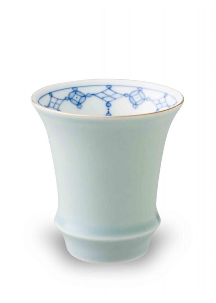 篠英陶磁器 青磁瓔珞(反)・匠の蔵(SAKE)