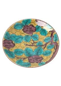 豆皿名品コレクション 古九谷青手椿図
