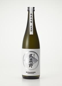 武蔵野ブラック 純米吟醸 720ml