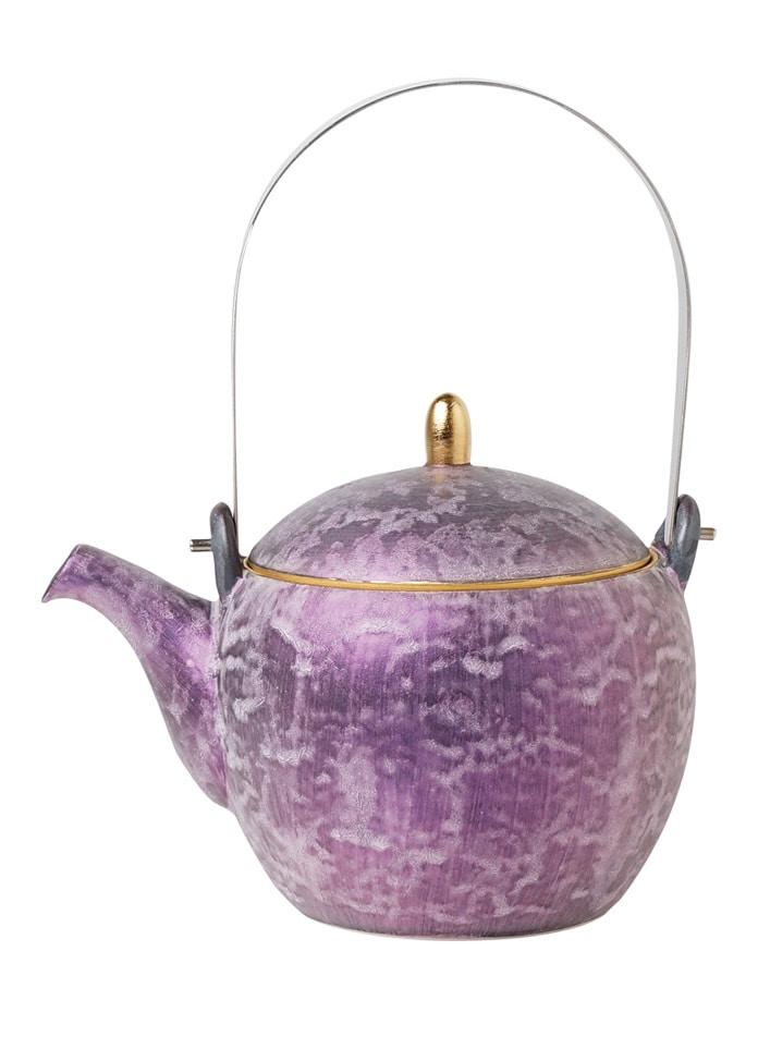 金照堂 麟 Lin 土瓶 Purple
