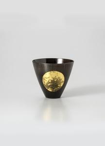 おぼろ月 カップ(漆)[小]