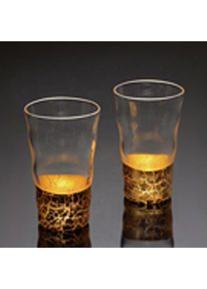 箔一 貫入 一口グラス2個