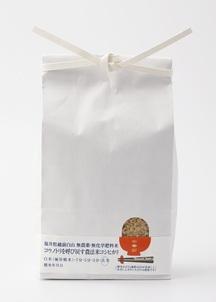 【マルシェ限定select】無農薬・無化学肥料 コウノトリを呼び戻す農法米   玄米
