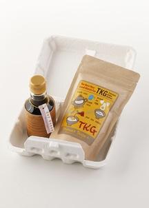 【TKG set】たまごかけご飯用のお米と醤油がセットに