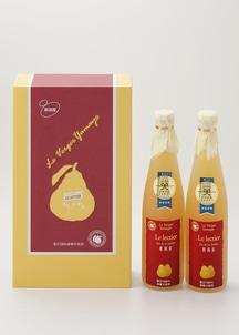 ルレクチェジュース2本セット(果汁100%ストレートジュース)