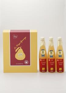 ルレクチェジュース3本セット(果汁100%ストレートジュース)