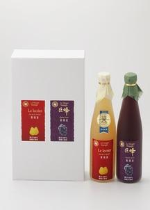 ルレクチェと巨峰ジュースセット(果汁100%ストレートジュース)
