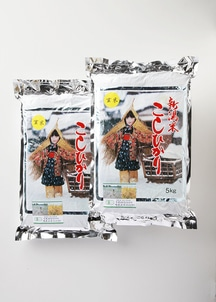 【農家直送】新潟産有機JAS(オーガニック米) 合鴨農法米コシヒカリ玄米 10kg