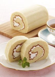 えちご三四郎の地鶏たまごで作ったロールケーキ(2本)