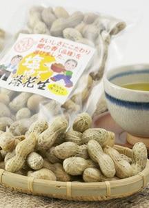 鹿児島伝統のおつまみ 塩茹で落花生6袋セット(250g × 6袋)
