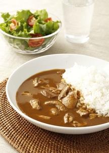 にいがた地鶏カレー&減農薬米セット[玄米]
